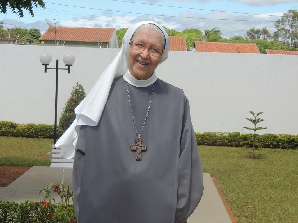 Abadessa Maria Aparecida Menezes do Couto. (Foto: Patrícia Silva)