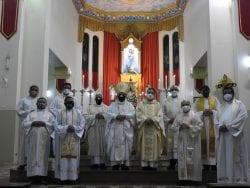 Missa em Ação de Graças pelos Aniversário natalício de Dom Gilberto e Jubileu de Prata Sacerdotal de Padre Elias