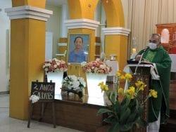 Celebração Eucarística marca os dois anos da páscoa definitiva de Irmã Maria Neli Sobreira