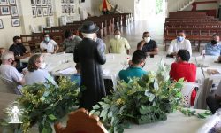 Padres da forania 2 realizam primeira reunião do ano na Basílica Santuário