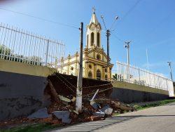 Paróquia São Francisco, em Crato, promove campanha para recuperar muro da Igreja Matriz