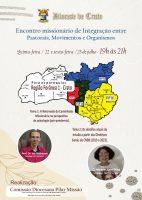 Pilar da Missão promove encontro de integração on-line na Forania 1