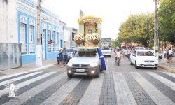 Basílica concluiu festa da padroeira com carreta pelas ruas de Juazeiro
