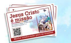 Coleta Missionária será realizada neste fim de semana (23 e 24 de outubro)