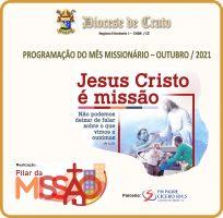 Programação do Mês Missionário na Diocese de Crato