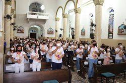 388 jovens são crismados na Paróquia Nossa Senhora da Conceição, em Mauriti